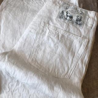 LISETTE リゼッタ パンツ リネン100% 美品 春色 ナチュラルな素材(カジュアルパンツ)