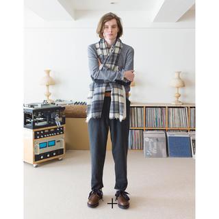 サンシー(SUNSEA)のSUNSEA 15aw painted wool pants(スラックス)