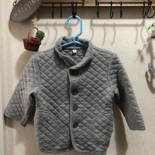 MUJI (無印良品) - 大人気 美品 無印良品 ベビーキルトジャケット 80cm