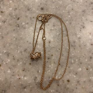 エステール K10 ピンクゴールド ネックレス