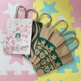 Starbucks Coffee - スタバ ショップ袋 2020 桜 2019 苺 スターバックス ショッパー
