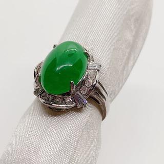 約11号 リング13[緑系](リング(指輪))