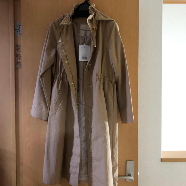 Apuweiser-riche(アプワイザーリッシェ)のフードロングブルゾン レディースのジャケット/アウター(ブルゾン)の商品写真