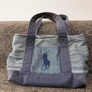 ポロラルフローレン(POLO RALPH LAUREN)のPOLO デニム bag(ハンドバッグ)