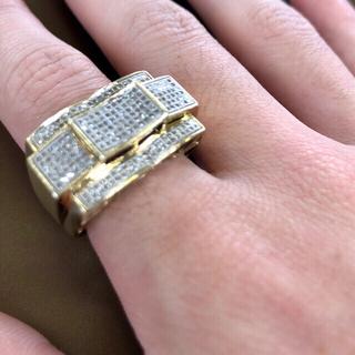 AVALANCHE - 10K ダイヤモンド リング