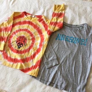 ランズエンド(LANDS'END)のLAND'S END キッズ Tシャツ 2枚セット(Tシャツ/カットソー)