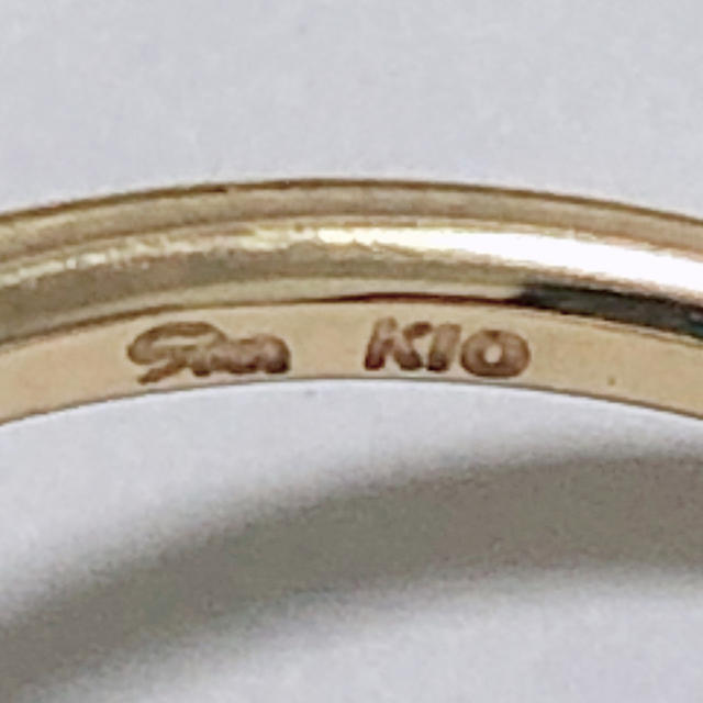 STAR JEWELRY(スタージュエリー)のダイヤモンド リング スタージュエリー k10yg 10金 イエローゴールド レディースのアクセサリー(リング(指輪))の商品写真