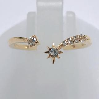 STAR JEWELRY - ダイヤモンド リング スタージュエリー k10yg 10金 イエローゴールド