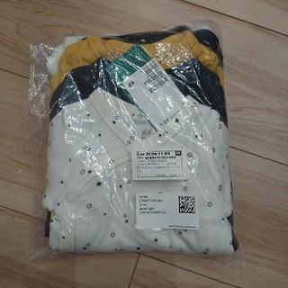 H&M - 【新品タグ付】H&M 60サイズ 長袖 前開き ロンパース 5枚セット