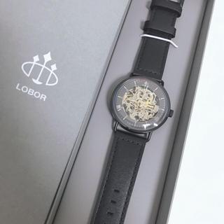 LOBORの自動巻き腕時計