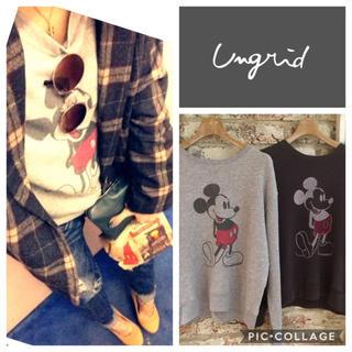 Ungrid - Ungrid**ヴィンテージミッキースウェット