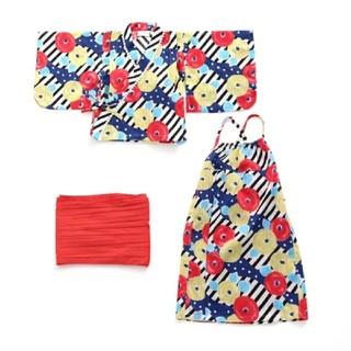 ampersand - 浴衣 ワンピース 130cm アンパサンド 新品 セパレートゆかた 女の子