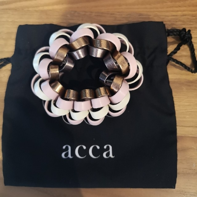 acca(アッカ)の新品【acca】ループシュシュ レディースのヘアアクセサリー(ヘアゴム/シュシュ)の商品写真