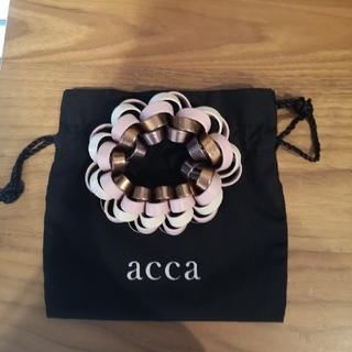 acca - 新品【acca】ループシュシュ