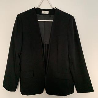 PLST - PLST ノーカラージャケット ブラック