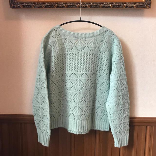 EASTBOY(イーストボーイ)のイーストボーイ モヘア ニット セーター 9号 ジュニア レディースのトップス(ニット/セーター)の商品写真