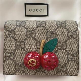 Gucci - gucci チェリー