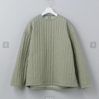 BEAUTY&YOUTH UNITED ARROWS - roku  STRIPE QUILTING PULLOVER
