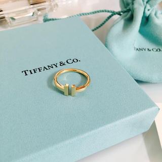 ティファニー(Tiffany & Co.)のtiffany&Co最新リング保証書付☆(リング(指輪))
