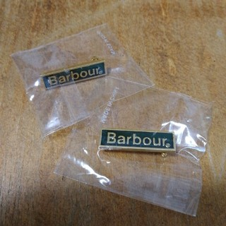 Barbour - Barbour ピンバッジ 2セット