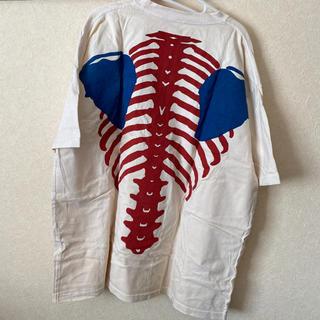キャピタル(KAPITAL)のkapital bone t シャツ one size トリコロール(Tシャツ/カットソー(半袖/袖なし))