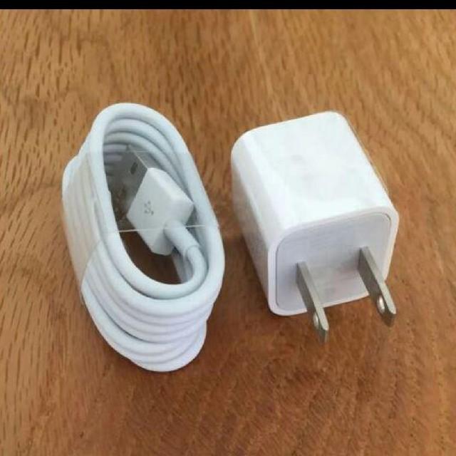 iphone  ケーブル アダプター スマホ/家電/カメラのスマートフォン/携帯電話(バッテリー/充電器)の商品写真