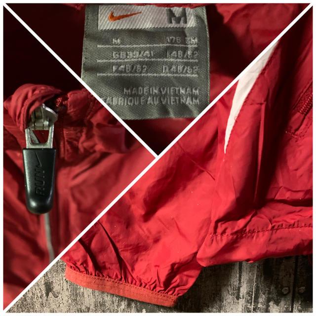 NIKE(ナイキ)の【90s 】NIKE ナイキ ナイロンジャケット 赤 レッド メンズのジャケット/アウター(ナイロンジャケット)の商品写真