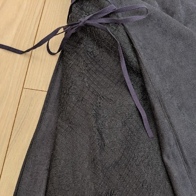MAJESTIC LEGON(マジェスティックレゴン)の台形スカートネイビー レディースのスカート(ひざ丈スカート)の商品写真