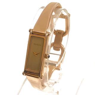 Gucci - GUCCI グッチ レディース腕時計 1500L スクエア バングルウォッチ