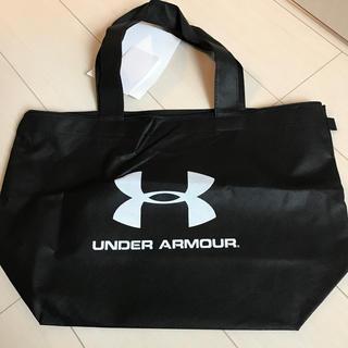 アンダーアーマー(UNDER ARMOUR)のアンダーアーマー  不織布 トートバッグ 大型 チャック付き(トートバッグ)