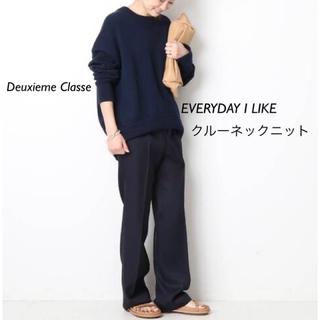 DEUXIEME CLASSE - DeuxiemeClasse EVERYDAY I LIKE クルーネックニット