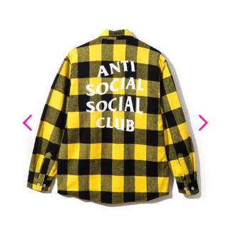 シュプリーム(Supreme)のANTI SOCIAL SOCIAL CLUB チェックシャツ XXLサイズ(シャツ)