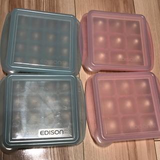 ディズニー(Disney)の補助付き子供お箸・離乳食小分け保存パックセット(離乳食調理器具)