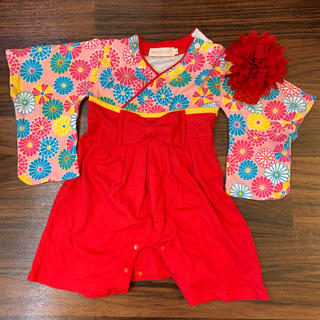 赤ちゃん袴 ロンパース