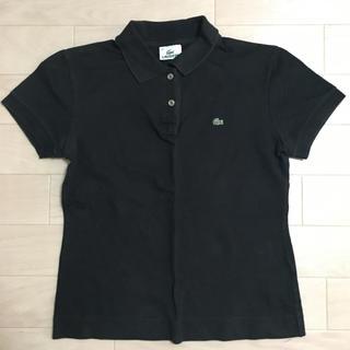 LACOSTE - ラコステ ブラック ポロシャツ