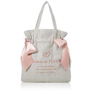 Maison de FLEUR - メゾンドフルール ダブルリボントートバッグ (Pink)