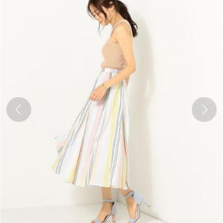 Spick and Span - 美品★ne Quittez pas ヌキテパ マルチストライプスカート