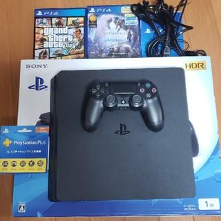 PlayStation4 - PS4 プレイステーション4 カセット コントローラ プレステーションプラス付き