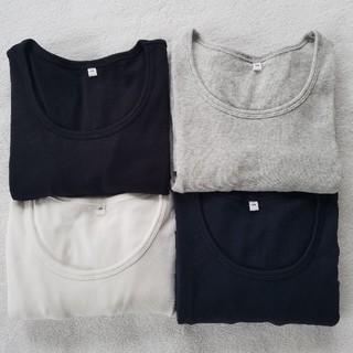 MUJI (無印良品) - 美品 無印 ロンT クルーネック 長袖 セット まとめ売り 未使用 含む