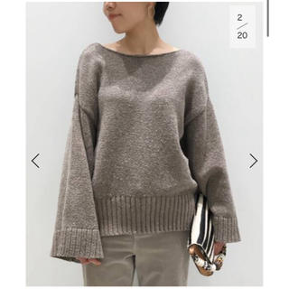 L'Appartement DEUXIEME CLASSE - 【予約購入分】L'Appartement CTN FLARE S/L KNIT