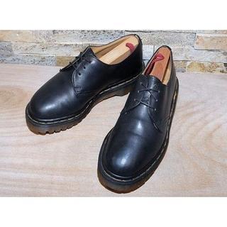 ドクターマーチン(Dr.Martens)のドクターマーチン 3ホールプレーントゥシューズ 黒 24cm UK5(ブーツ)