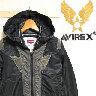 AVIREX - 希少!60周年記念!AVIREXアヴィレックス レザー使いミリタリーライダース