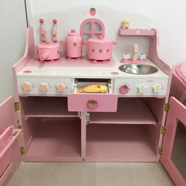 マザーガーデン 野いちご キッチン おままごと キッズ/ベビー/マタニティのおもちゃ(知育玩具)の商品写真