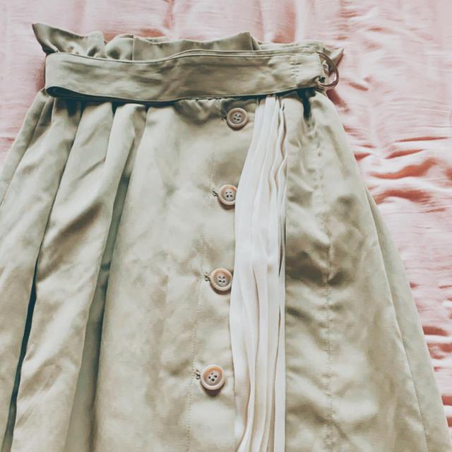 MERCURYDUO(マーキュリーデュオ)のMERCURYDUO /グリーンスカート 新品未使用 レディースのスカート(ロングスカート)の商品写真