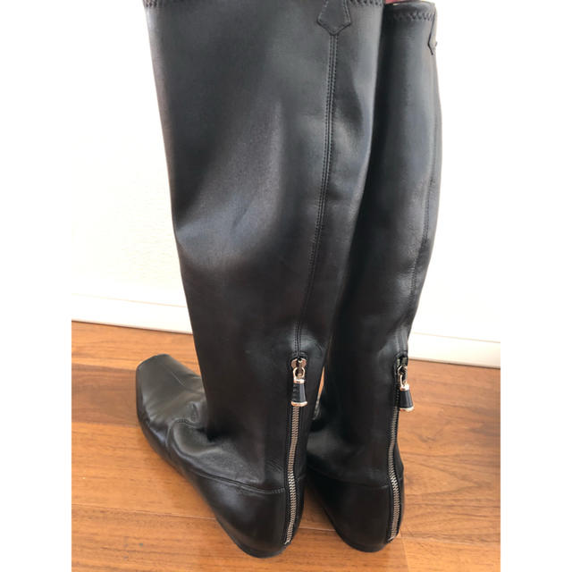 Sergio Rossi(セルジオロッシ)の★sergio rossi★ブラックロングブーツ★39 レディースの靴/シューズ(ブーツ)の商品写真