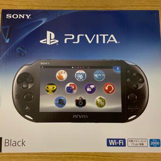 PlayStation Vita - PlayStation®Vita 2000シリーズ Wi-Fiモデル ブラック