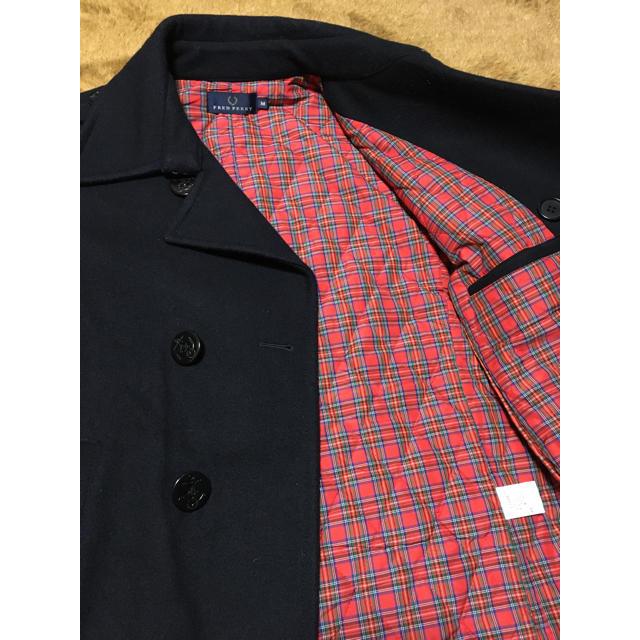 FRED PERRY(フレッドペリー)のFRED PERRY ピーコート F2109 Mサイズ メンズのジャケット/アウター(ピーコート)の商品写真