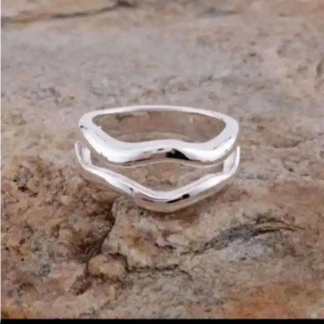BEAUTY&YOUTH UNITED ARROWS(ビューティアンドユースユナイテッドアローズ)の大人気なため再入荷!tear drop ring silver925  レディースのアクセサリー(リング(指輪))の商品写真
