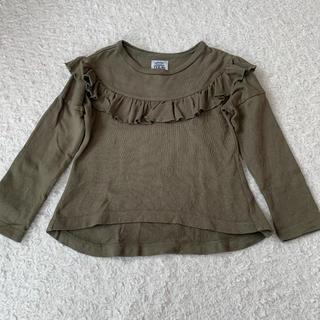 【110cm】フリルトップス(Tシャツ/カットソー)