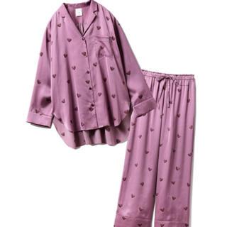 gelato pique - 【セットアップ】ハートチョコシャツ&ロングパンツ ★ gelato pique